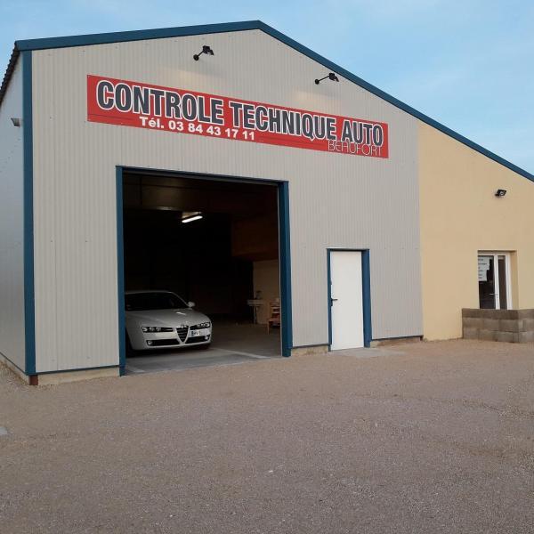 Controle Technique BEAUFORT Contrôle Technique Auto Beaufort