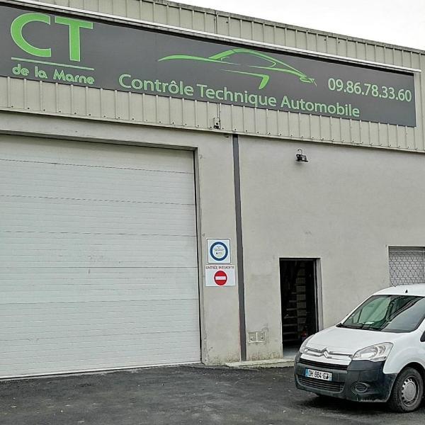Controle Technique REIMS CT DE LA MARNE