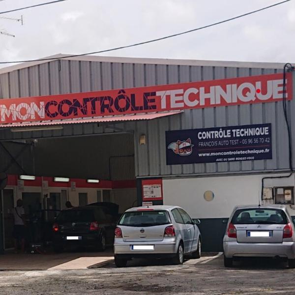 Controle Technique LE FRANCOIS FRANCOIS AUTO TEST